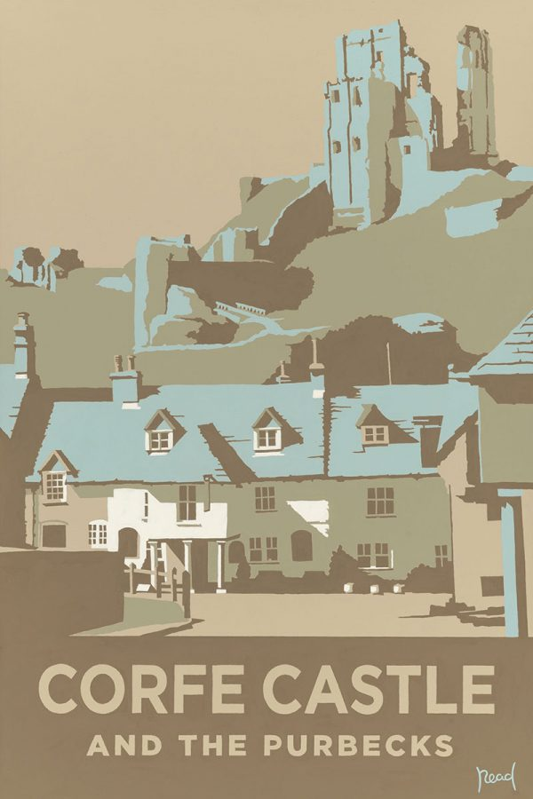 Corfe Castle and the Purbecks, Dorset