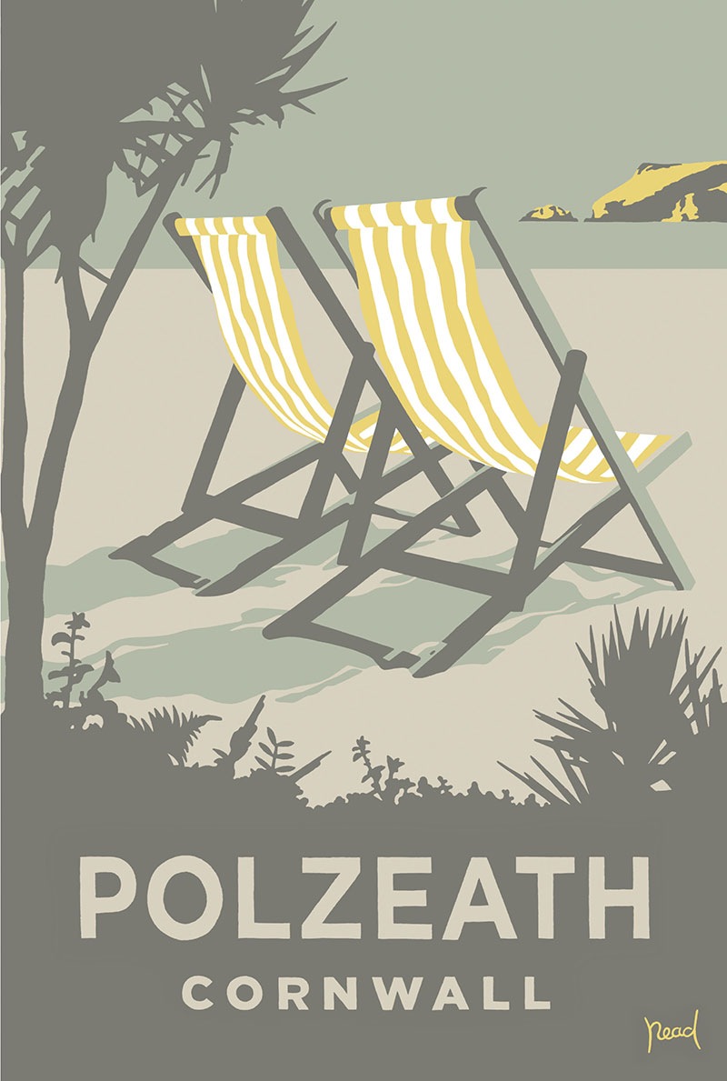 Deckchairs – Polzeath, Cornwall