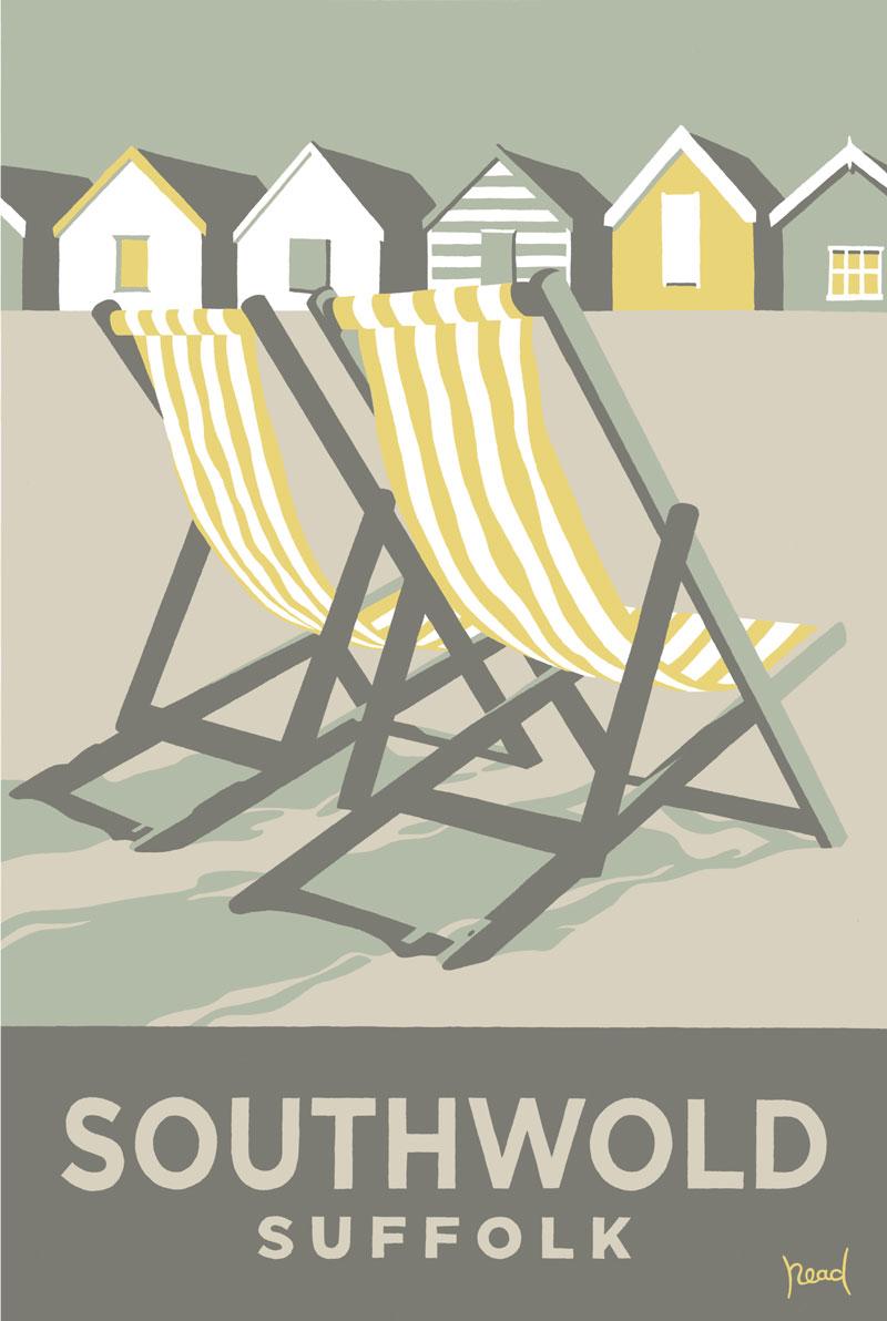 Deckchairs, Southwold