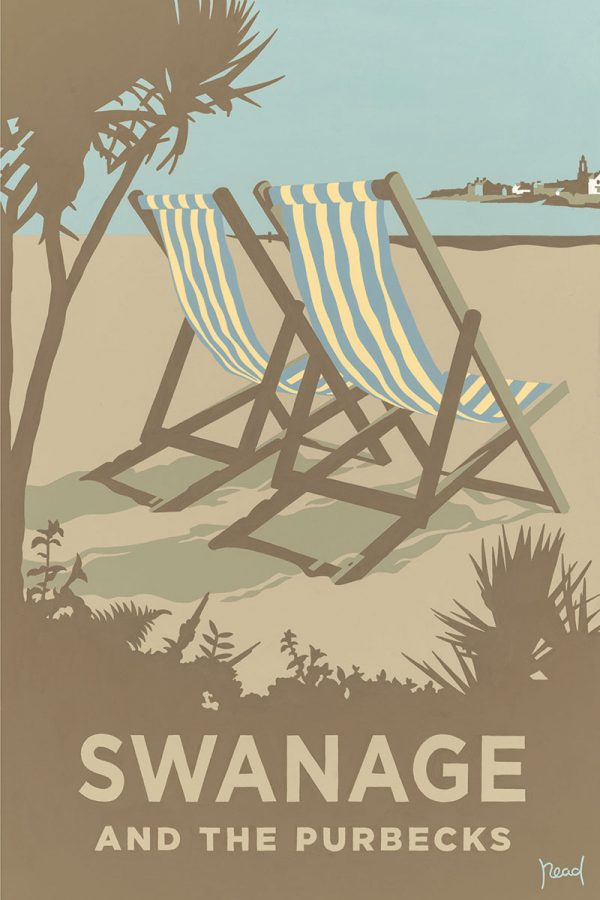 Blue Deckchairs, Swanage and the Purbecks, Dorset
