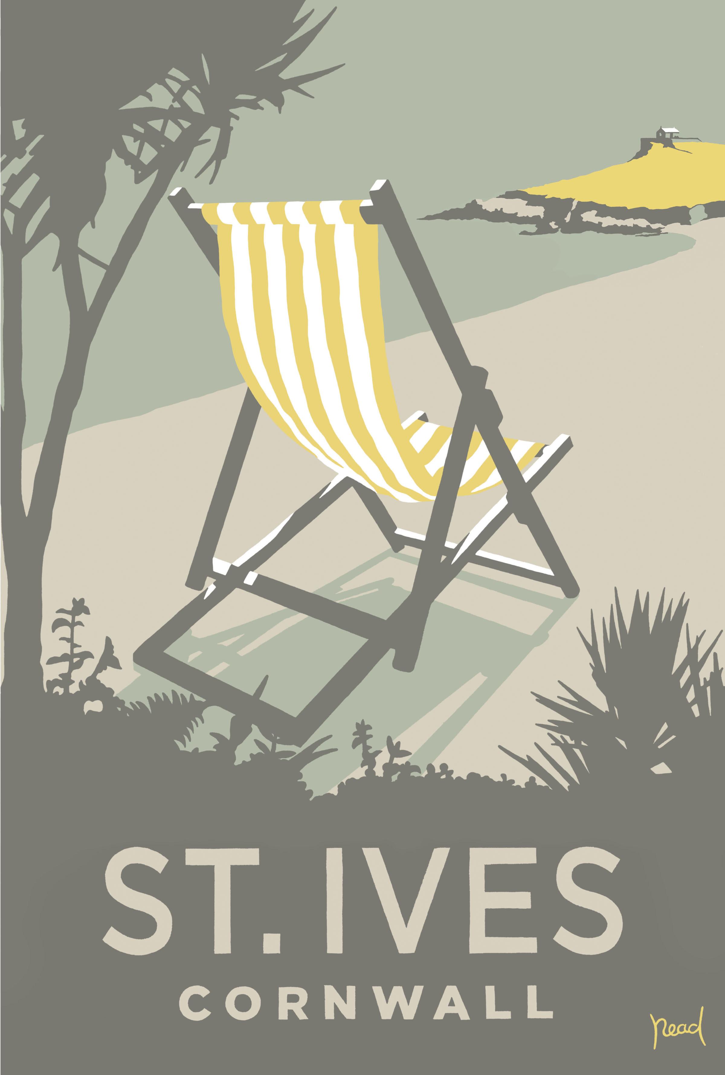 Deckchair St Ives Cornwall