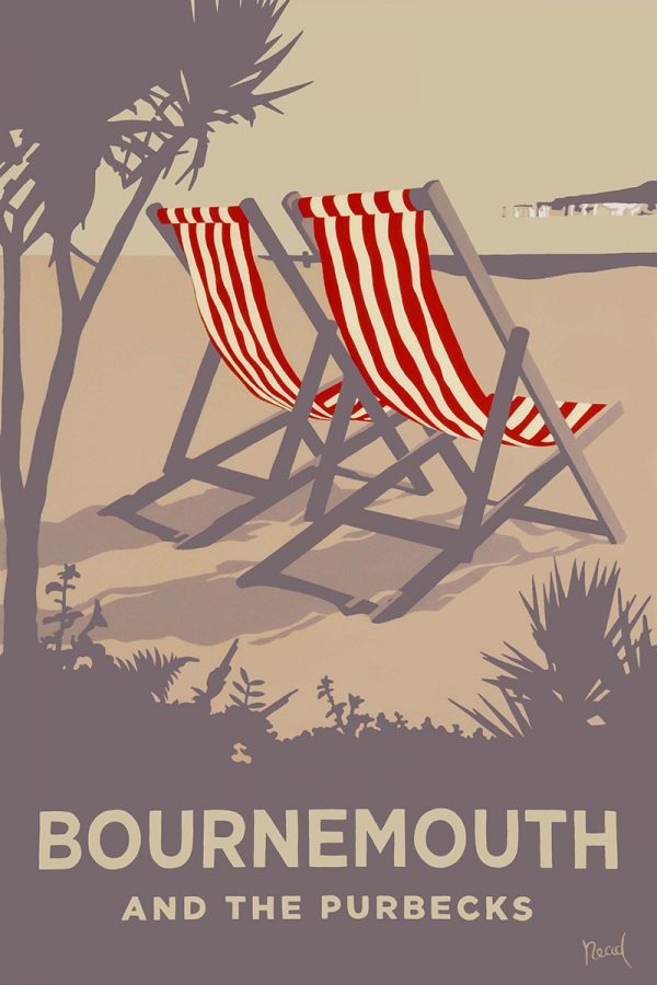 Red Deckchair, Bournemouth and the Purbecks, Dorset