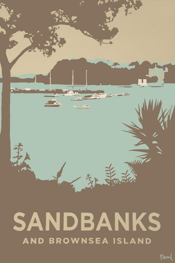 Sandbanks and Brownsea Island, Dorset