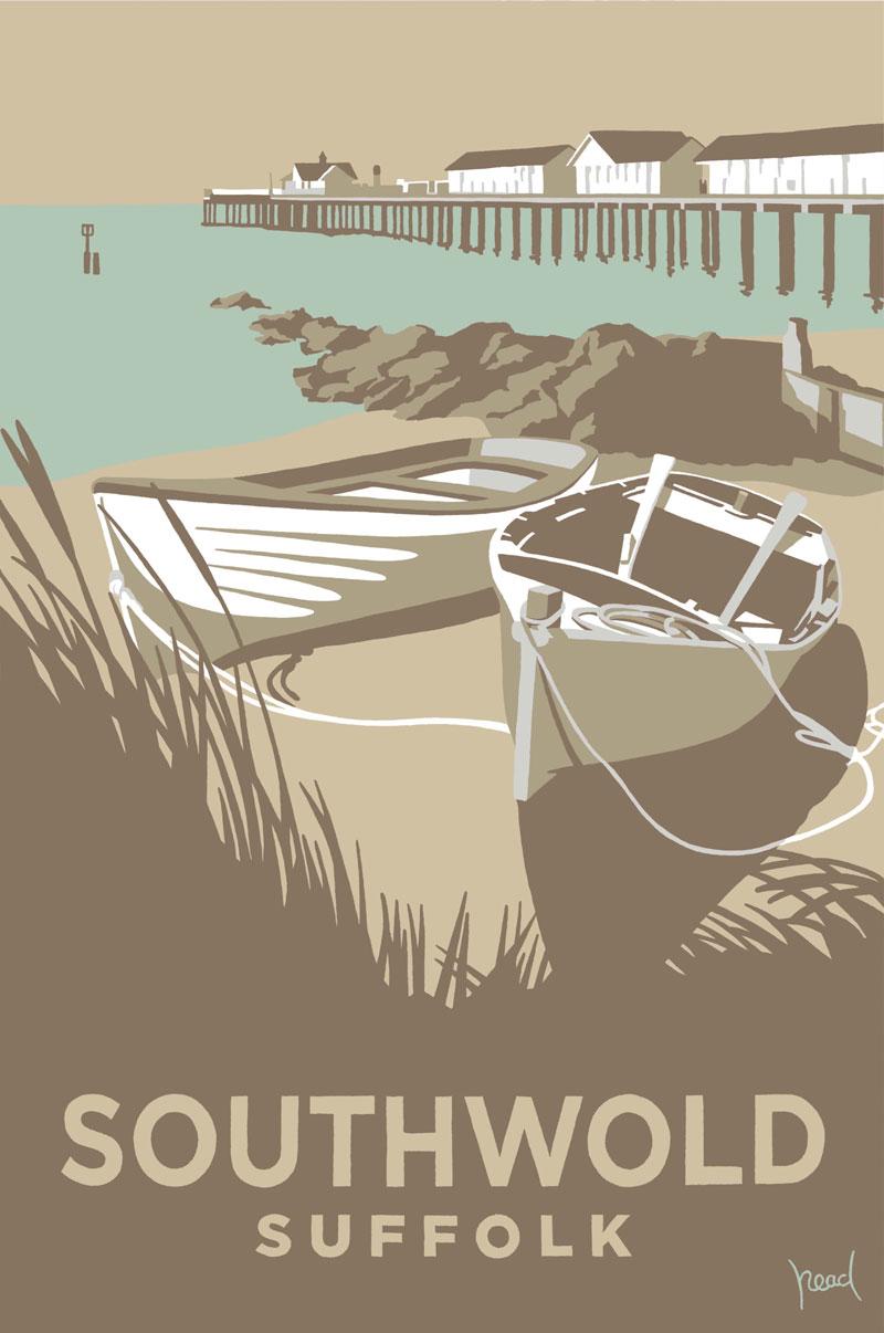 Boats-&-Pier, Southwold